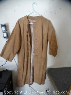 Suede Jacket Unknown Size