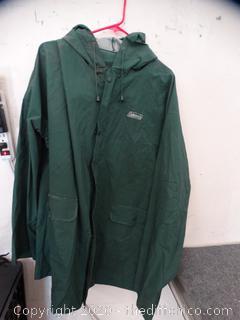 Coleman Rain Coat 2xl