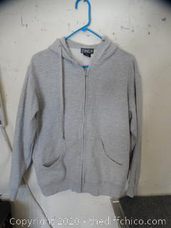 ZYNC Zip Up Sweatshirt small