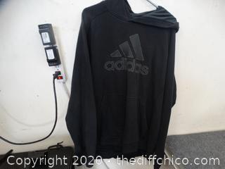 Adidas XL Pull Over Sweatshirt