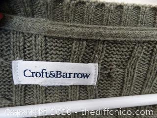 Crofts & Barrow Sweater maybe Large