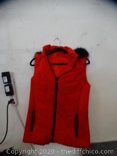 Michael Kors Red Vest Small