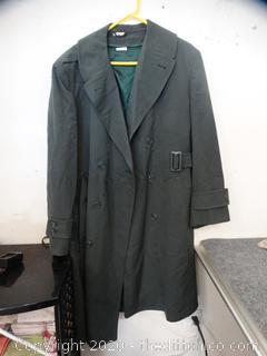 42 R Military Coat