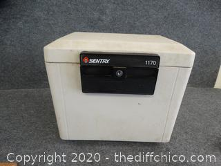 Sentry Safe No Key Locked Unknown Contents