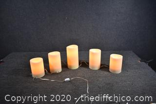 Working Decorative Electric Candles