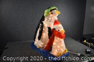 Working Penguin Decoration