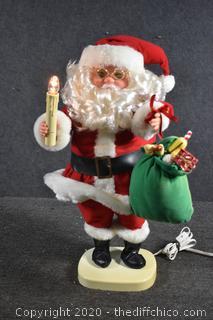 Working Santa
