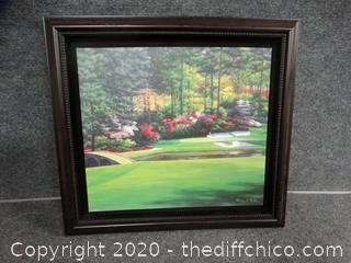 Marci L Rule Painting Signed