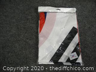 New 3'x5' Korea Flag