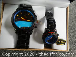 CR Charles Raymond New York Watch Set