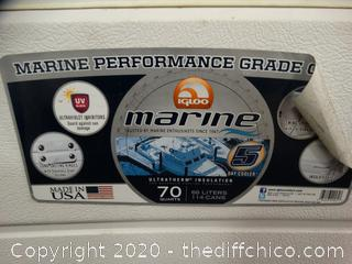 Marine 70 Quart Icechest