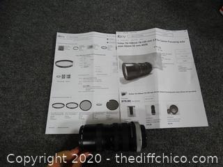 Vivitar 70MM-150MM Lens
