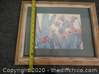 Signed Framed Water Color
