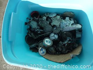 Tub Of Hub Caps