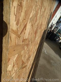 "3/4"" x 7' Plywood 2 Pieces"