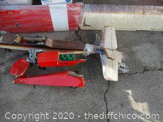 """Plane Parts 5ft Brown wings, Red Wing 52 1/2"""""""
