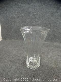 Hoosier Glass Vase #4041