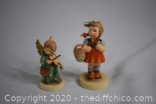 2 Collectible Figures
