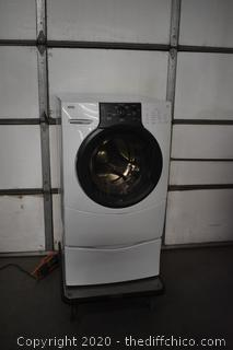 Working Kenmore Elite Front Load Washer w/Pedestal