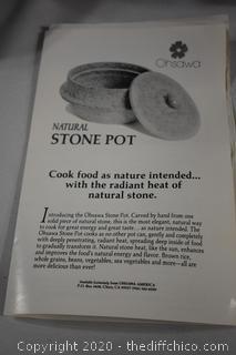 Ohsawa Natural Stone Pot
