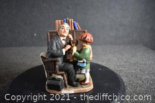 Norman Rockwell Doctor and the Doll Figurine
