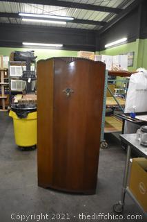 Vintage Single Door Armoire
