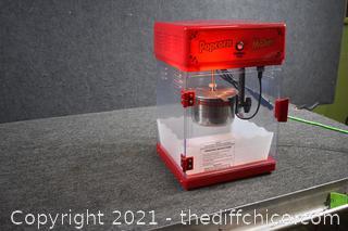 Working Popcorn Machine