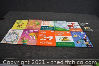Dr, Seuss Books
