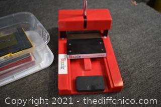 Sizzix Red Die Cutter Press Machine, Dies and More
