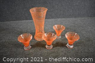 Pitcher and Drink Set