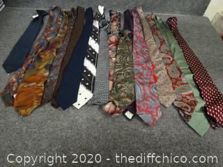 Variety of Ties