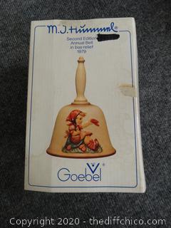 MJ Hummel W. Germany Bell - 1978