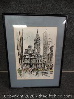 City Hall of Philadelphia - Signed