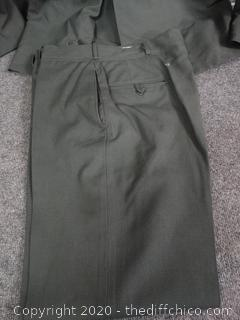 Military Jacket (42L) and Pants (33x34)
