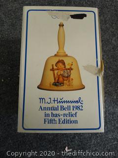 MJ Hummel W. Germany Bell - 1982