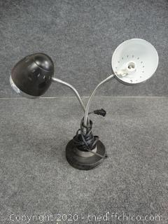2 Headed Lamp