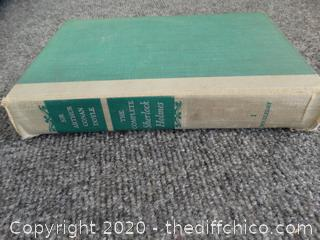 1953 Signed Complete Sherlock Holmes