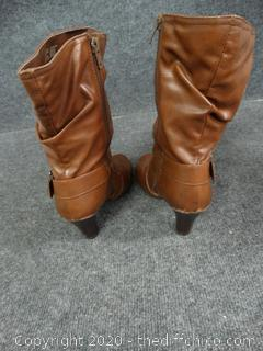 Faded Glory Boots - Size 8 1/2
