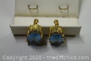 Pair of Christian Dior Earrings