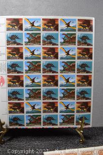 40 - Stamposaurus 25cent Stamps