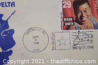Collectible 29cent Bessie Smith Stamp