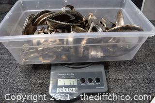 654 grams of Scrap Sterling Silver
