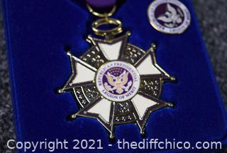 Republican Presidential Legion of Merit Medal with Box