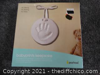 Baby Prints Keepsake Kit - NIB