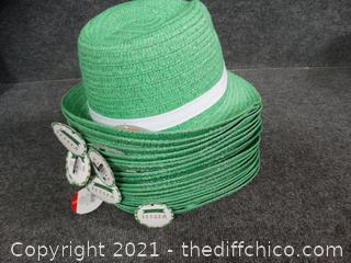 St. Patrick's Day Fedoras - New