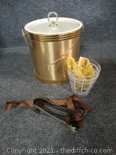 Ice Bucket w/ Accessories