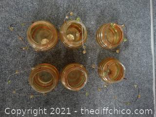 Unique Jar/Candle Holders