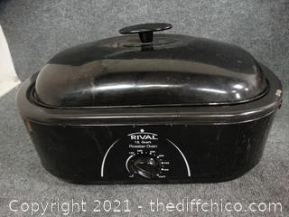 Rival Roaster Oven - Works