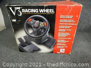 V3 Racing Wheel - Like New