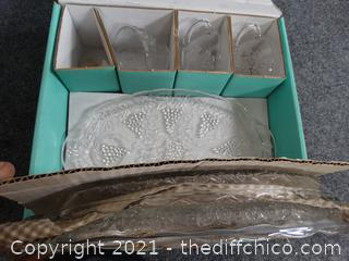 Serva-Snack Sparking Crystal Set - See Pictures